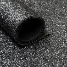 Gummiläufer / Gummimatte von der Rolle,  Hammerschlag, 150cm, 3 mm dick