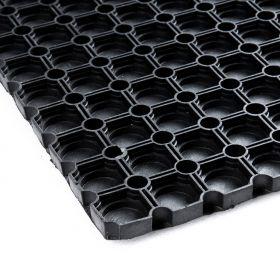 Geschlossene Gummi-Ringmatte - 100x150cm - wasserdichte Löcher