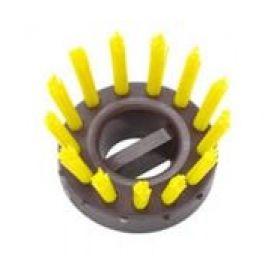 Bürsteneinsätze gummi-ringmatte