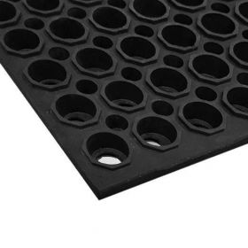 rubber ringmat - 100x150 cm - extra strong